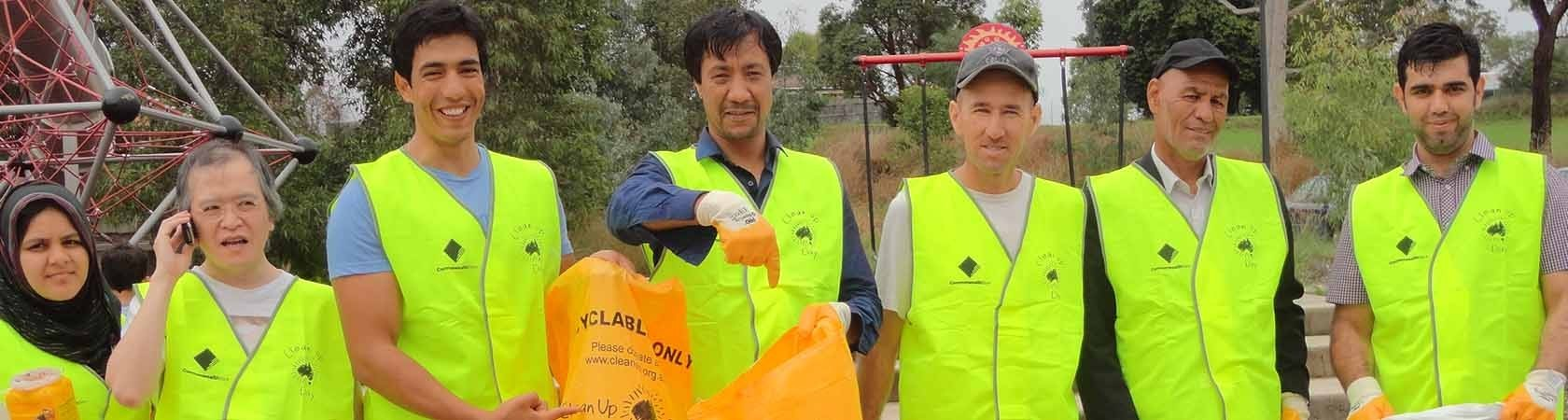 Australia Clean Up Day