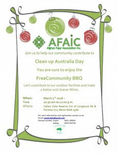 Australia Clean Up Day 2018