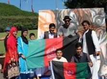 The Afghan culture was vibrantly paraded amongst many other culturally diverse groups