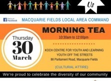 30 March organised  by Macquarie Fields LAC - NSW Police